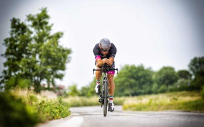 Mattia Ceccarelli ha tagliato l'Ironman Italy 2019 in quinta posizione (Foto ©Roberto Del Bianco).